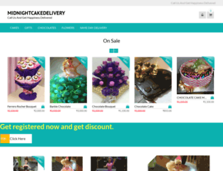 midnightcakedelivery.com screenshot