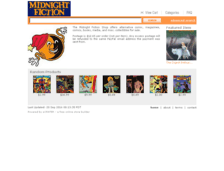 midnightfiction.ecrater.com screenshot