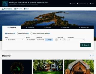 midnrreservations.com screenshot