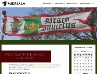 midrealm.org screenshot