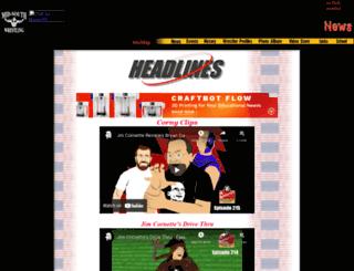 midsouthwrestling.com screenshot