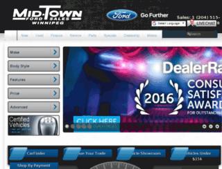 midtownford.autotrader.ca screenshot
