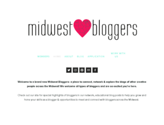 midwest-bloggers.com screenshot