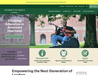 midwest.antioch.edu screenshot