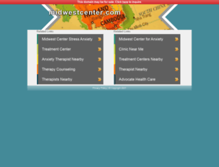 midwestcenter.com screenshot