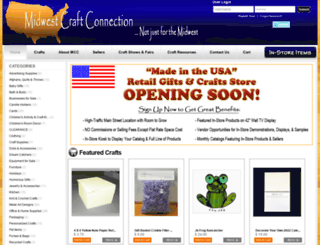 midwestcraftconnection.com screenshot