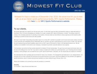 midwestfitclub.com screenshot
