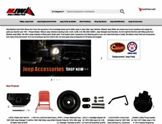 midwestjeepwillys.com screenshot