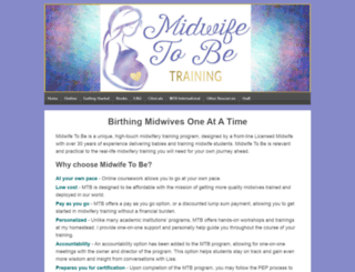 midwifetobe.com screenshot