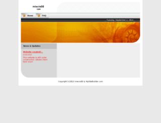 miecio08.vixo.pl screenshot