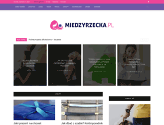miedzyrzecka.pl screenshot