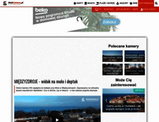 miedzyzdroje.webcamera.pl screenshot