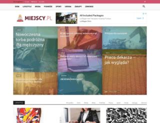 miejscy.pl screenshot