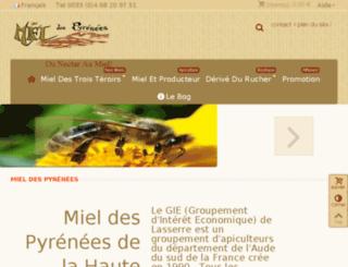 miel.tendrecalin.com screenshot