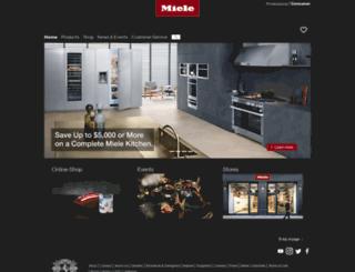 mieleconcierge.com screenshot