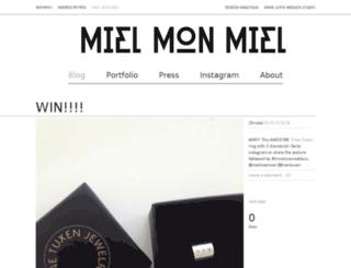 mielmonmiel.anywho.dk screenshot