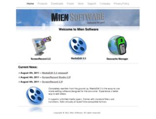 miensoftware.com screenshot