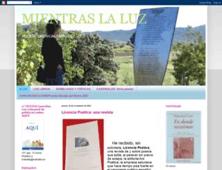 mientraslaluz.blogspot.com screenshot