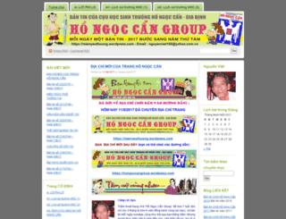 mienyeuthuong.wordpress.com screenshot