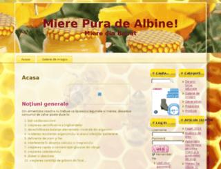 miere-de-albine.info screenshot