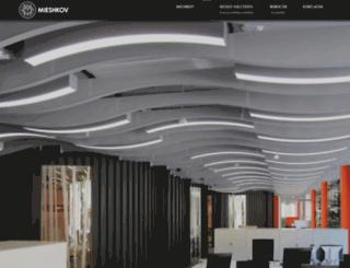 mieshkov.com.ua screenshot