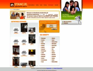 mieszkania-studenckie.pl screenshot