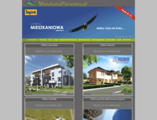 mieszkaniapierwotny.pl screenshot