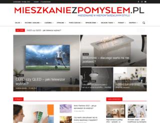 mieszkaniezpomyslem.pl screenshot
