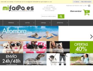 mifauna.es screenshot