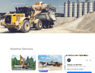 miflota.azurewebsites.net screenshot