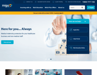 miga.com.au screenshot