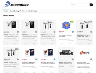 migenblog.com screenshot