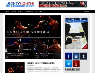 mightyfighter.com screenshot