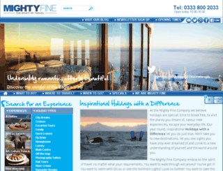 mightyfinecompany.com screenshot