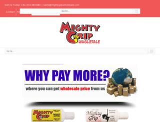 mightygrip.com.au screenshot