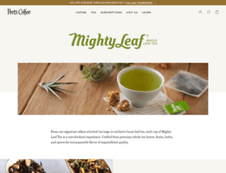 mightyleaf.com screenshot