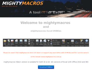 mightymacros.tools screenshot