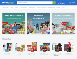 mightymart.co.nz screenshot