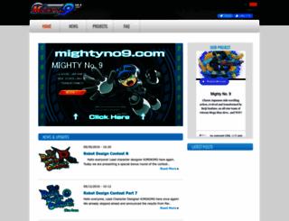 mightyno9.com screenshot