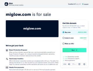miglow.com screenshot