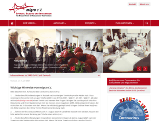 migra-mv.de screenshot