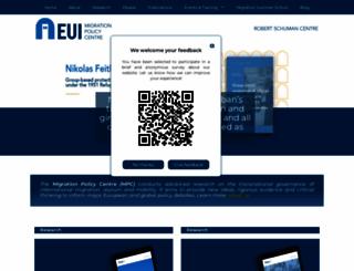 migrationpolicycentre.eu screenshot