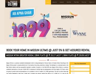 migsunultimo.net.in screenshot
