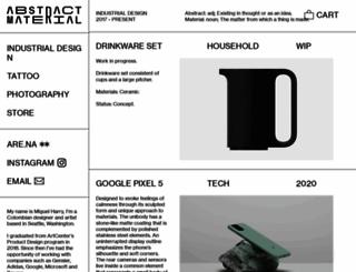 miguelharry.com screenshot