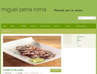 miguelpena.com screenshot