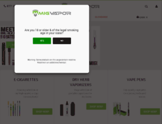 migvapor.aws3.net screenshot