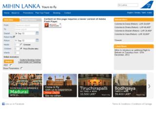 mihinlanka.biz screenshot
