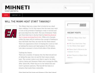mihneti.com screenshot