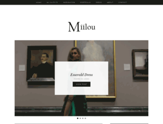 miilou.com screenshot