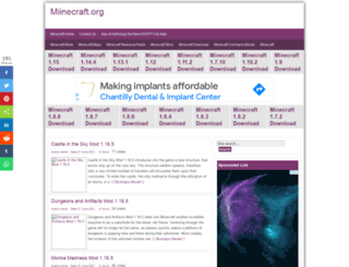 miinecraft.org screenshot
